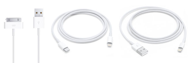 Apple USB Cables